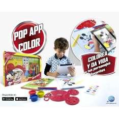 mickey pop app color