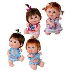 pecosets muñeca con pelo sdas.