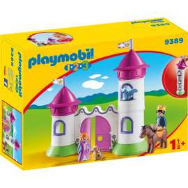 playmobil 1.2.3. castillo torre apilable