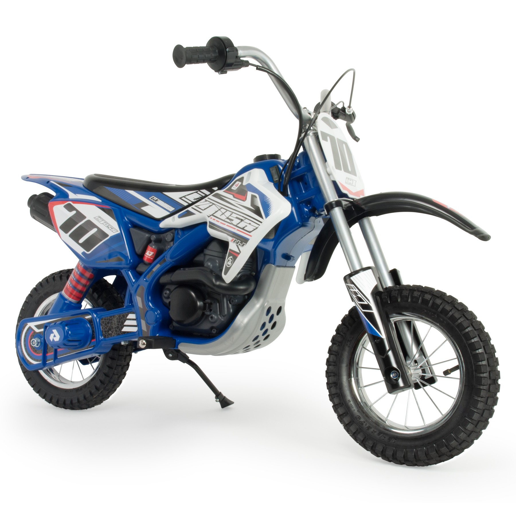 injusa moto cross blue fighter bat.24v.