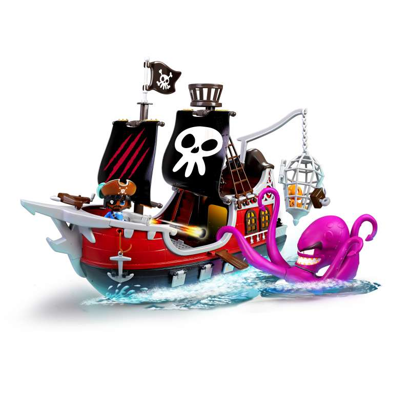 pin y pon action barco pirata