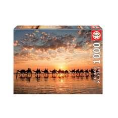 puzzle 1000 atardecer dorado australia