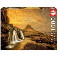 puzzle 1000 kirkjufellsfoss