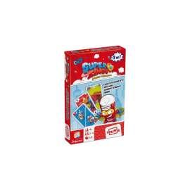 superzings juego cartas 4 en 1