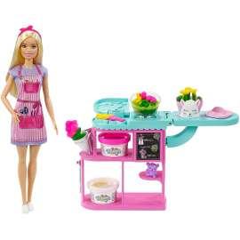barbie y su floristeria