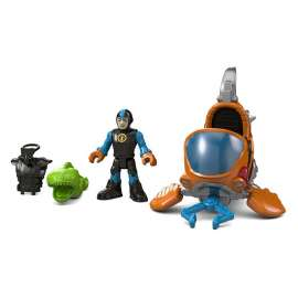 fisher imaginext heroes figuras oceano