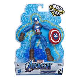avengers bend and flex figuras 15 cms