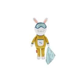 fisher-price hoppy dreams, peluche de cuna con música y luces para bebé +18 meses (mattel gmn58)
