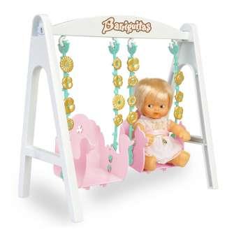 barriguitas columpio con figura bebe