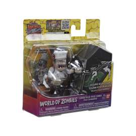 world of zombies pack 2 figuras