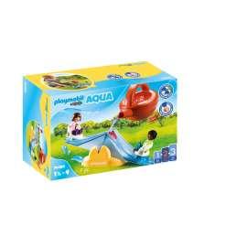 playmobil 1.2.3. balancin acuatico