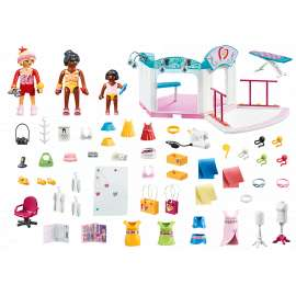 playmobil estudio diseño moda