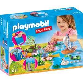 playmobil play map hadas de jardin