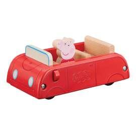 peppa wood coche de madera peppa pig