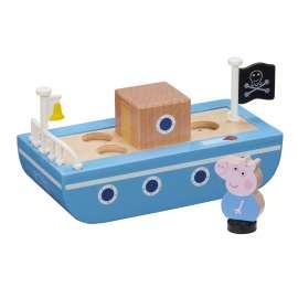 peppa wood barco madera peppa pig