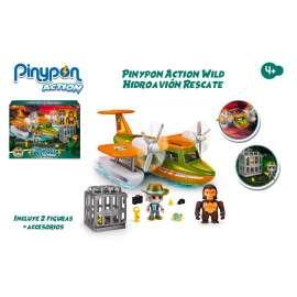 pin y pon action wild hidroavion rescate