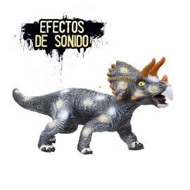 wild dragons triceratops foam con sonido