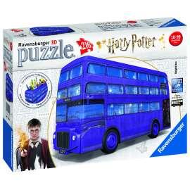 puzzle 3d 244 harry potter autobus