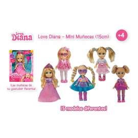 love diana mini muñecas 15 cms