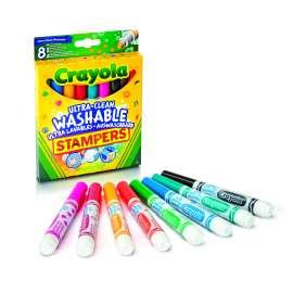 crayola 8 rotuladores estampadores