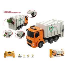 camion basura r/c.mercedes luces 1:20
