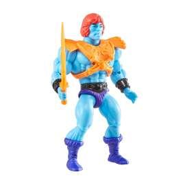 masters of the universe origins faker figura de acción de 5.5 pulgadas, figura de batalla para juego y exhibición de cuentos, re